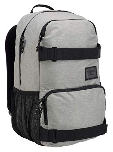 Burton Treble Yell Backpack, Gray Heather New, One Size