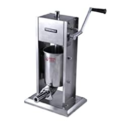 Cylinder, canister and base plate are all made of sturdy gauge stainless steel Capacity 5 lbs 2-Gear system. Comes with 2 different s/steel nozzle adapters. One for filling (hollow) and the other is for plain churros. Portable and easy to operate. Ea...
