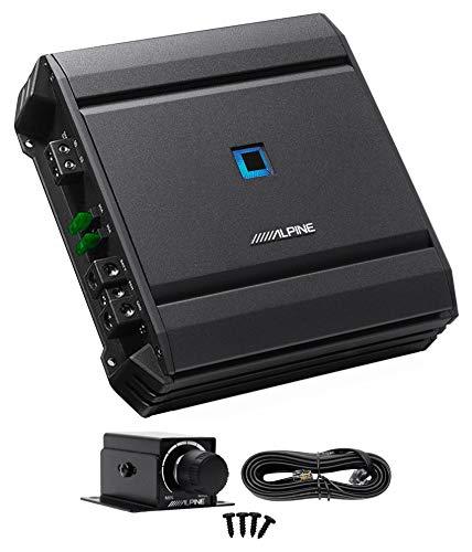 ALPINE S-A60M 600 Watt RMS Mono Car Audio Amplifier Subwoofer Class-D+Bass Knob