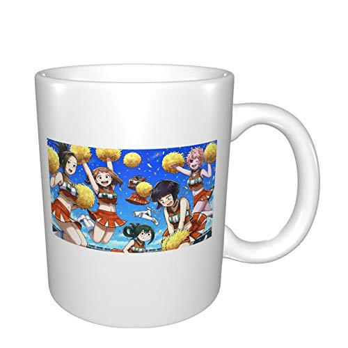 My Hero Academia - Tazza in ceramica con manici per caffè, tè, cacao, per la casa e la cucina
