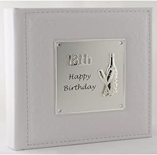 Shudehill Giftware Deluxe Happy 18th Birthday Photo Album by