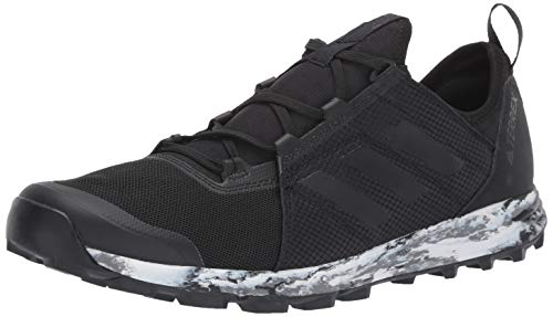 adidas outdoor Men's Terrex Speed Athletic Shoe, Black/Black/Black, 14 D US