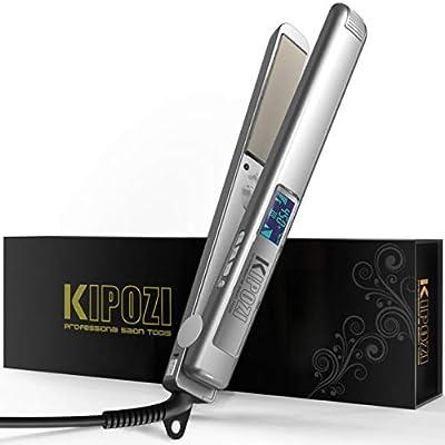 KIPOZI Professional Hair Straightener Nano-Titanium Flat Iron
