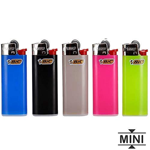Bic Mini Feuerzeug mit Zündstein, 5 Stück