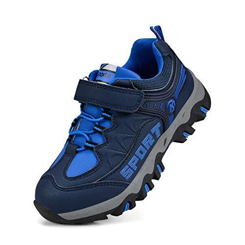 Biacolum Boys Shoes Hiking Waterproof Tennis Running Sneakers Kids BlueBlue 13 M US Little Kid