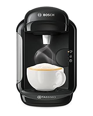Tassimo Bosch TASSIMO Vivy 2 TAS1402GB Coffee Machine, 1300 Watt, 0.7 Litres - Black