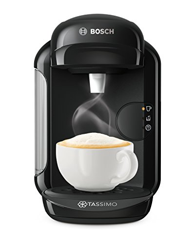 Bosch TASSIMO Vivy 2 TAS1402GB Coffee Machine, 1300 W, 0.7 Litres, Black