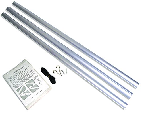 HydroTools by Swimline Aluminum Pole Pool for Solar Blanket Reel Systems
