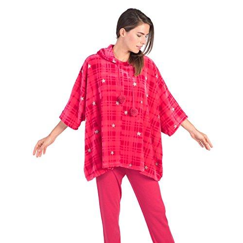 Massana Dames poncho Fleece