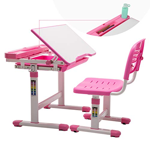 Mecor Ergonomic Desk Chair Kids Office Chair Correct Posture,Height Adjustable Swivel Children Student Computer Chair (Grey)