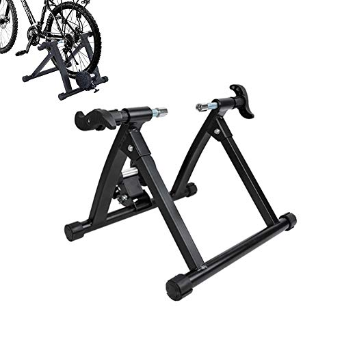 Bike Trainer Stand, Magnetic Fiets Trainer, Fixed Gear Trainer Voor Oefening Fitness for 26 '' - 28 '' Wielmaten Road En Mountainbikes Rollen