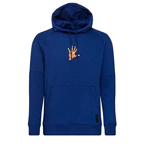 Nike 2020-2021 Barcelona - Forro polar con capucha (azul)