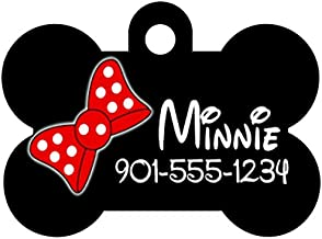 minnie mouse dog tag