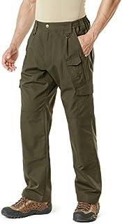 CQR Men's Tactical Pants Lightweight EDC Assault Flap Pockets Cargo