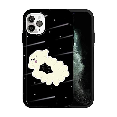 Sconosciuto iPhone 12 Mini Case, The Space Midnight Dog Gospel TV035_5 Case for iPhone 12 Mini Protective Phone Cover, Abstract Funny Gorgeous [Double-Layer, Hard PC + Silicone, Drop Tested]