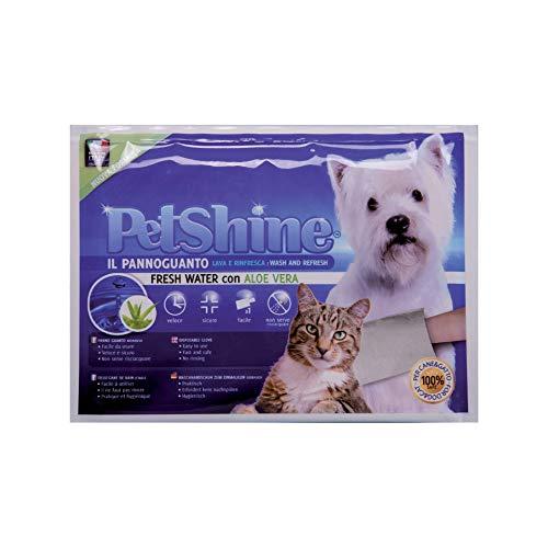 PETSHINE Desinfektionstuch für Hunde, Katzen und Haustiere, 28 frisches Wasser Duftreinigungstuch, Alkohol und parabenfreies Feuchttuch, reinigend und erfrischend