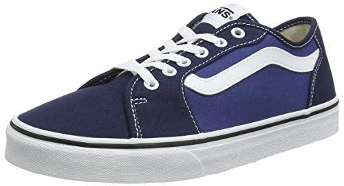Vans Men's Filmore Decon Platform Shoes, Blue Canvas Dress Blues True Navy...