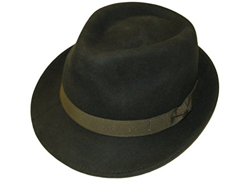 Major Wear - Chapeau fedora - Homme Vert Vert olive