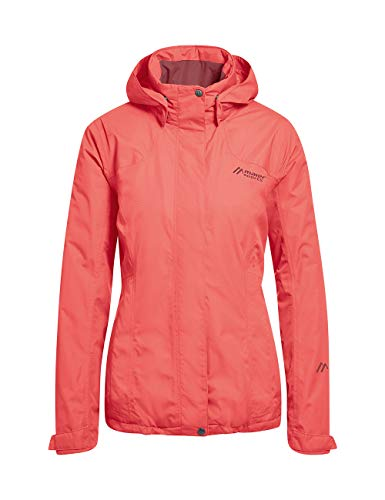 maier sports Damen Metor Therm Funktionsjacke, spiced coral, 19