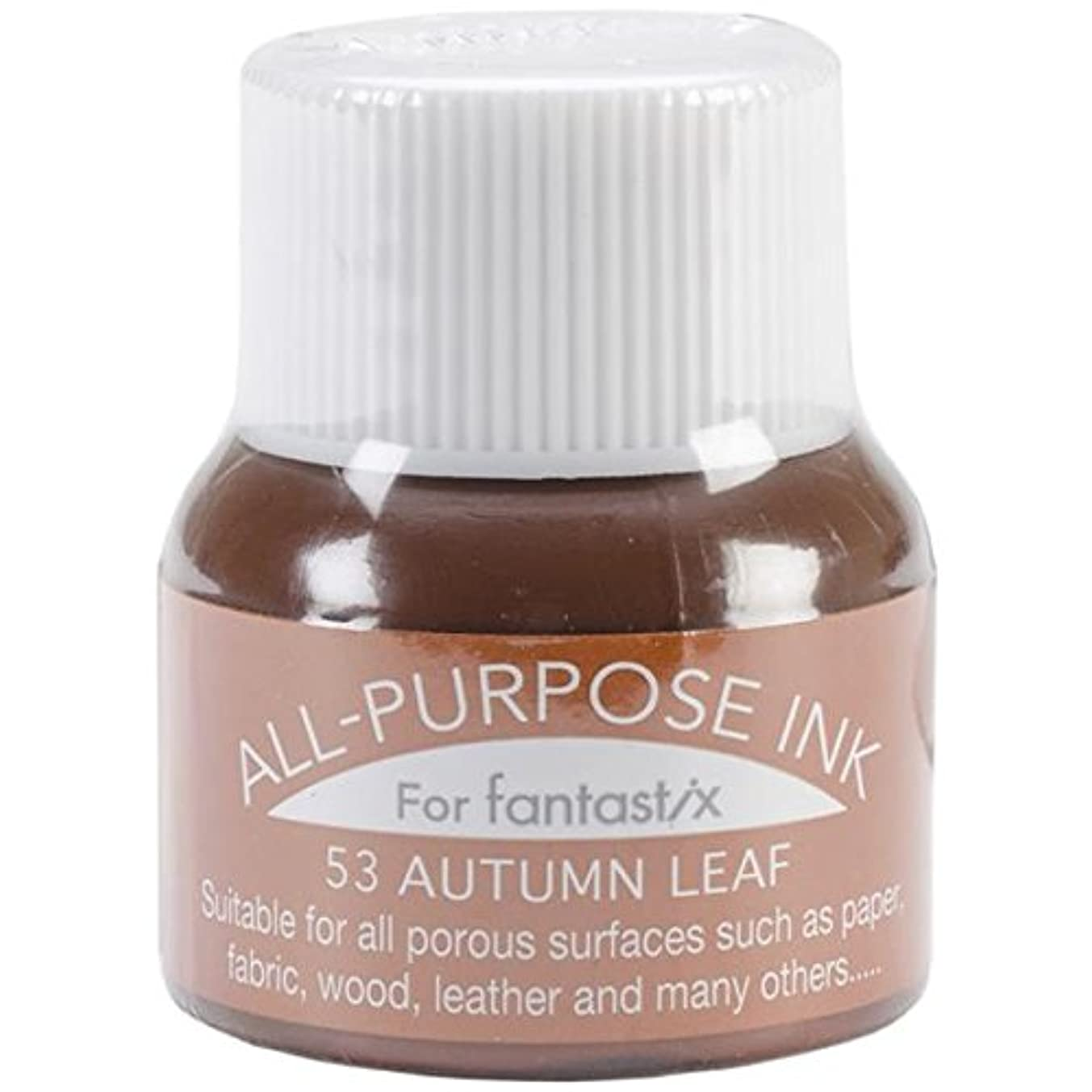 Tsukineko 0.5-Fluid-Ounce All Purpose Ink, Autumn Leaf