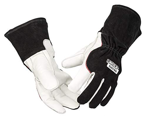 Lincoln Electric DynaMIG HD Professional MIG Welding Gloves | Comfort & Heat Resistance | Medium | K3806-M