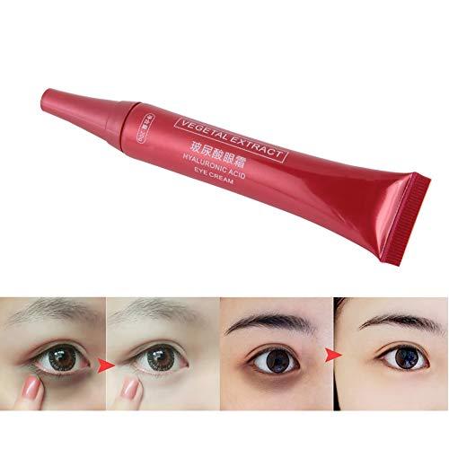 Eye roll on con ácido hialurónico para ojeras, hinchazón y arrugas, tratamiento en crema de ojos antiedad para ojeras, hinchazón y arrugas, cremas para ojos con ácido hialurónico 20g