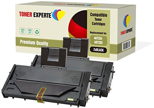 2er-Pack TONER EXPERTE® Premium Toner kompatibel zu 407254 407255 für Ricoh SP 200, SP 201N/NW, SP 202, SP 203S, SP 204SF/SFN/SN, SP 210, SP 211SF/SU, SP 212NW/SFW/SNW/SUW/W, SP 213NW/SFW/SNW/W