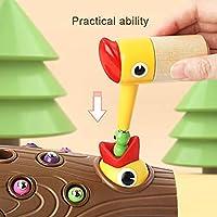 FECHO Picchio Giocattolo educativo precoce Picchio Magnetico Che Cattura Insetti Giocattolo Sviluppa coordinazione Occhio-Mano e abilità motorie Fini - Regalo di Compleanno per Bambini di età 2-4 #6