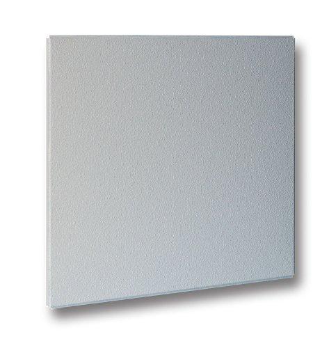 Preisvergleich Produktbild Infrarotheizung Raufaser weiß,  300 Watt / 60x60x3 cm