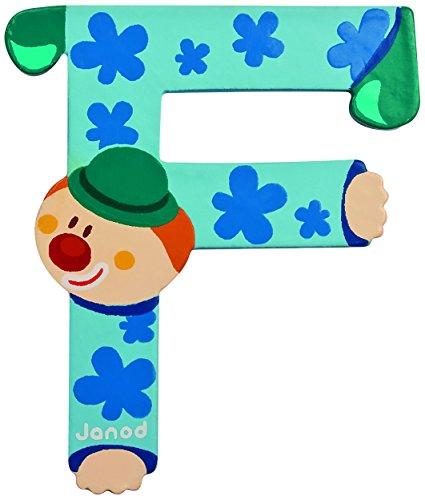 Janod 4504547 - Buchstaben Clown F