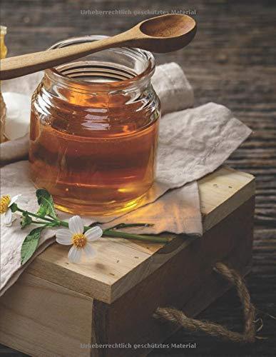 Imker Tagebuch: Honig Journal zum Nachweis und Dokumentation der Hygiene I Vorlagen zur Eigenkontrolle in der Imkerei I Notizbuch für alle Imker zum Honig schleudern I A4+ Format I Motiv: Honig