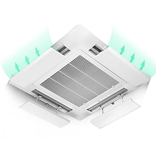 Deflettore Condizionatore Universale aria Condizionata Oscuranti Parabrezza Dell'aria Condizionata Centralizzata Deflettore Laterale Anti-diretto Soffiaggio 50cm Adatto A Ristoranti, Hotel, Bar