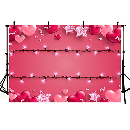 New Little Sweetheart One Birthday Photo Studio Background Rustic Wood Red and Black Grid Girl Happy 1st Birthday Valentine Party Decoration Banner Backdrops for Photography 7x5ft
