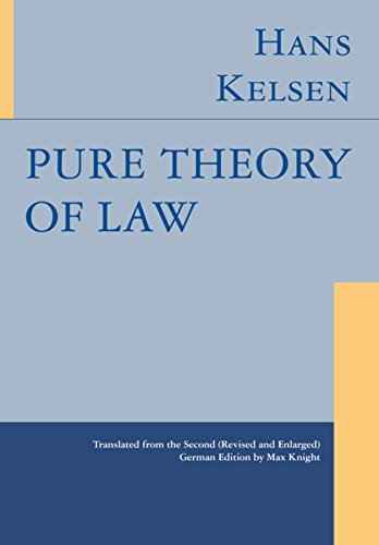 Pure Theory of Law (English Edition)
