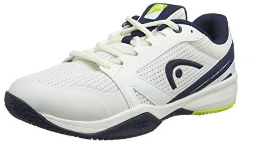 Head Sprint 2.5 Junior, Unisex-Kinder Tennisschuhe, Weiß (White/Dark Blue Whdb), 35 EU (3 UK)