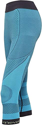 Teyder 925PT-187-L/XL - Hevet Shapecell Sport Pantalones De Cuerpo Reductores, Grande/X-Grande Azul/Negro