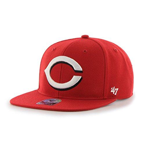 '47 Cincinnati Reds Sure Shot Brand Snapback