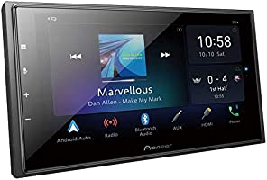 "Pioneer DMH-Z6350BT 6.8"" Hi-Res Audio AV Receiver with Wireless Apple CarPlay and Android Auto"