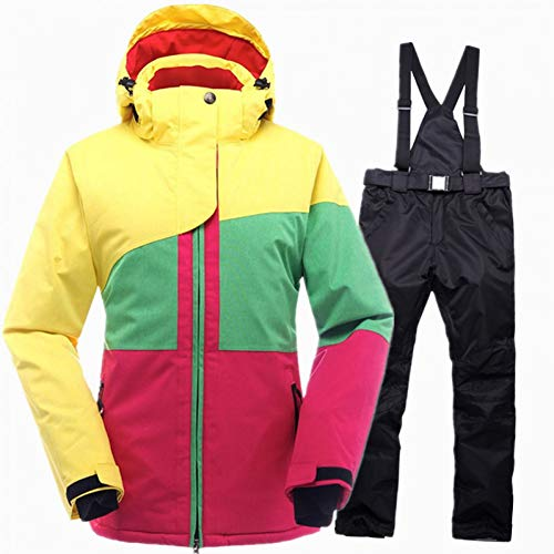 MQAIFEKS Skipak winter waterdicht vrouwelijke ski-jack snowboardbroek thermisch ademend goedkoop outdoor ski-set