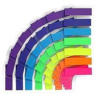 ♥【Ausgezeichnete Qualität】 --- Unsere Tabs bestehen aus hochwertigem PET-Material und können jederzeit und überall verwendet werden. ♥【Entfernbar】 --- Entfernbarer Kleber für die einfache Neupositionierung, Sie können sie entfernen, ohne das Papier o...