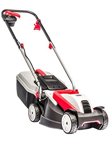 AL-KO Elektro-Rasenmäher 3.22 SE Classic, 32 cm Schnittbreite, 1.000 W Motorleistung, für Rasenflächen bis 250 m², Schnitthöhe 3-fach verstellbar, inkl. 30 l Fangkorb mit Füllstandsanzeige