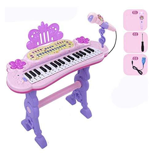 YSJJWDV Pianos Infantiles Juguetes Musicales USB Teclado electrónico Piano eléctrico Conjunto de...