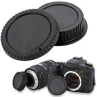 قبعات لين - قطعتين من غطاء عدسة خلفية للكاميرا + غطاء أمامي للعدسات بنظام E Mount NEX SEL50F18 SEL16F28 SEL18200 SEL1855 S...