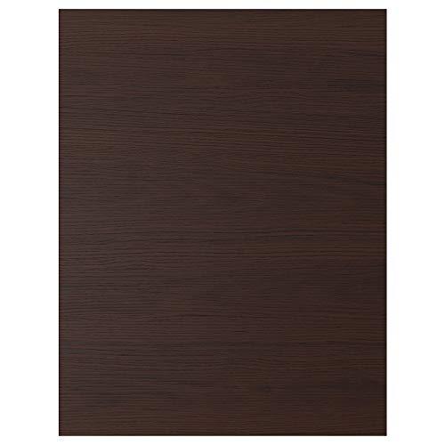 ASKERSUND panel de cubierta 61,5x80 cm efecto ceniza marrón oscuro