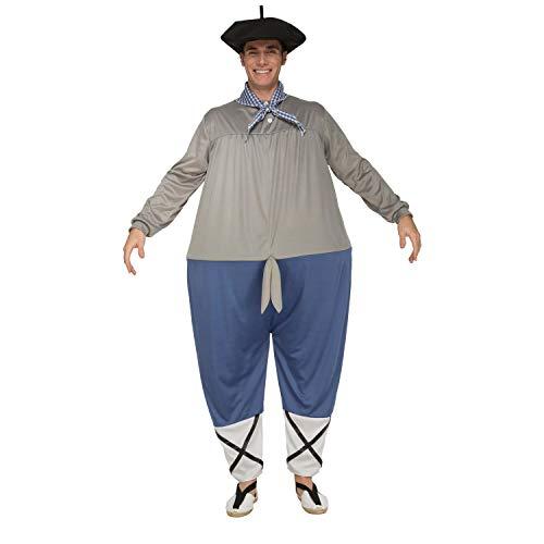 My Other Me Me-203782 Disfraz de olentzero para hombre, M-L (Viving Costumes 203782)