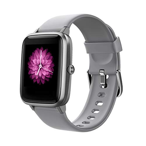 Fitpolo Reloj Inteligente Mujer Niños Hombre,smartwatch Mujer niños, Pulsera de Actividad Inteligente con Monitor de Sueño Contador de Caloría Pulsómetros Podómetro para Android iOS