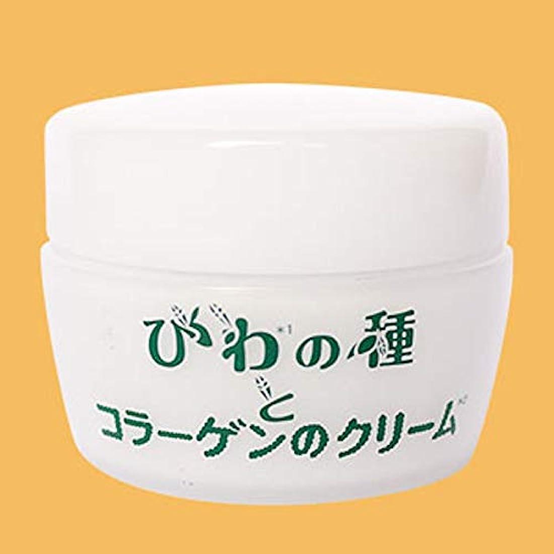 悲観的協会乳製品入来屋 びわの種とコラーゲンのクリーム 50g