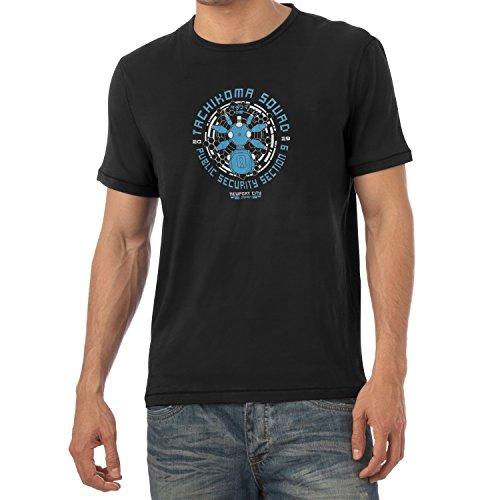 Texlab Herren Tachikoma Squad T-Shirt, Schwarz, XL