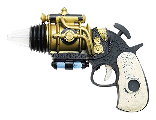Steampunk Revolver Steam punk Victorian Sci-Fi Novelty Plastic Toy Steampunk Revolver Contents: Steampunk Revolver Fancy Dress Other Accessories