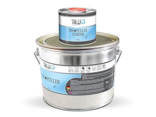 T4W PIK 2K HS Acrylfiller Grundierung 5:1 Füller Schwarz - 2,5 Liter inkl. Härter 0,5 Liter (59292)